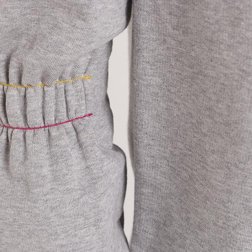 Серый спортивный костюм Trussardi Jeans с лого, фото
