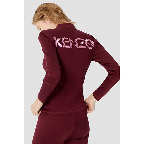 Спортивный костюм Kenzo бордового цвета, фото