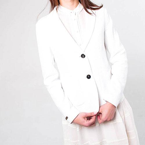Пиджак Peserico укороченный на пуговицах, фото
