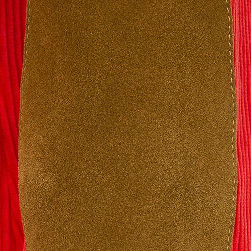 Вельветовый красный пиджак Dsquared2 на пуговицах, фото