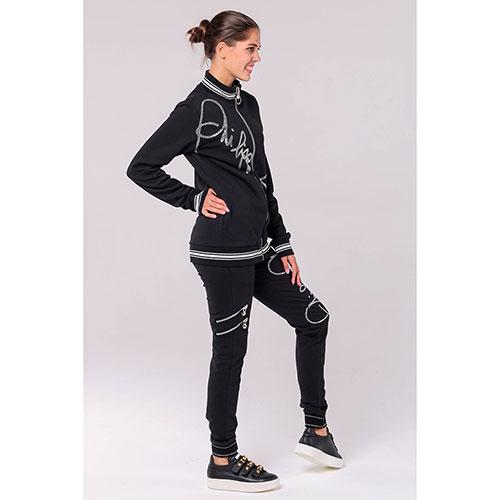 Черный спортивный костюм Philipp Plein с декором-стразами, фото