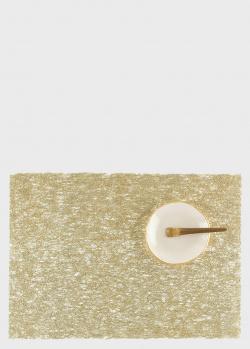 Золотистый коврик Chilewich Lace 33х46см, фото