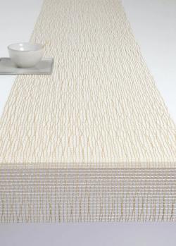 Золотистый раннер Chilewich Lattice 36х183см, фото