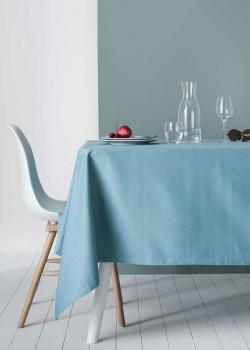 Скатерть Degrenne Paris Linge de Table голубого цвета, фото