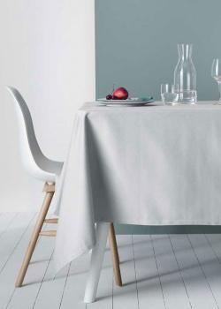 Льняная скатерть Degrenne Paris Linge de Table серого цвета, фото
