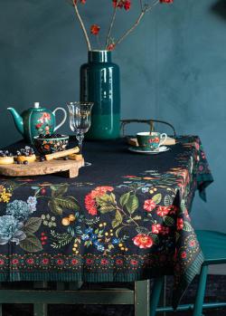 Скатерть Pip Studio Winter Wonderland 150х250см синего цвета, фото