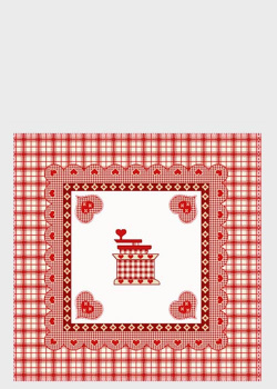 Декоративная наволочка Emilia Arredamento для подушки на кухню CoriA 45x45см, фото