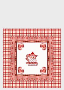 Декоративная наволочка Emilia Arredamento для подушки на кухню CoriB 45x45см, фото