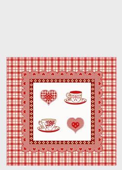 Декоративная наволочка Emilia Arredamento для подушки на кухню CoriC 45x45см, фото