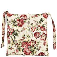 Подушка для стула Emilia Arredamento Розарий 39,5x39,5см, фото