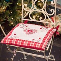 Подушка для стула Emilia Arredamento Сердечные поздравления 41x41см, фото