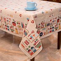 Скатерть Villa Grazia Кухонные мелочи 140x220см, фото