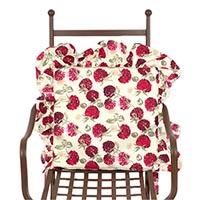 Подушка для стула Emilia Arredamento Ягода-малина 39,5x39,5см, фото