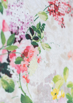 Хлопковая скатерть Villa Grazia Цветущий, фото