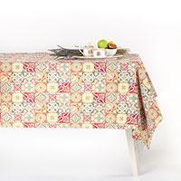 Скатерть гобеленовая длинная Villa Grazia Разноцветная мозаика 160х360см, фото