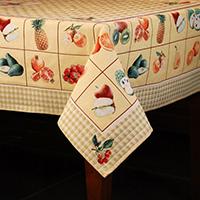 Скатерть Emilia Arredamento Фруктовая азбука 140х180см, фото