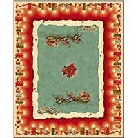 Праздничная скатерть Emilia Arredamento Рождество 140x260см, фото