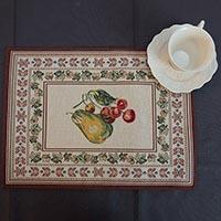 Салфетка Emilia Arredamento тканевая Фруктовое изобилие 35x45см, фото