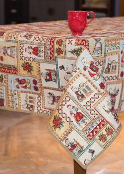 Скатерть Villa Grazia День до Рождества 160х280см, фото