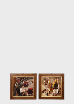 Набор из 2-х картин Decor Toscana Романтический вечер 20х51см, фото