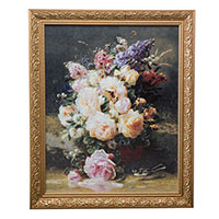 Картина Goebel Still Life with Roses 48х58см, фото