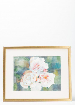 Акварель Садовые розы, фото