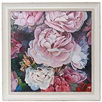 Картина с розами (холст, масло), фото