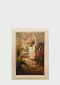 Репродукция картины Decor Toscanaы Утро в саду Роберто Ломбарди 106х76см, фото