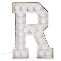 Буква R Seletti с подсветкой, фото