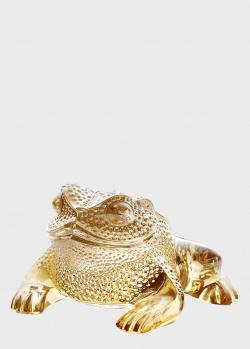 Фигурка Lalique Лягушонок Gregoire Toad с позолотой, фото