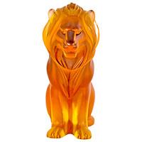 Хрустальная скульптура Lalique в виде льва, фото