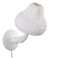 Лампа Seletti Mushroom в форме гриба белого цвета, фото