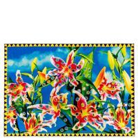 Ковер Seletti Toiletpaper с цветочным принтом, фото