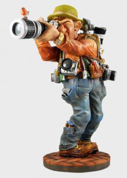 Скульптура Parastone Яркая фигура фотографа большая, фото