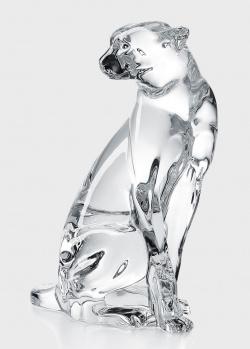 Хрустальная статуэтка Baccarat Cheetah on the watch Гепард, фото