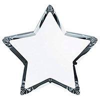 Фигурка Звезда Baccarat Zinzin прозрачная большая, фото