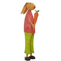 Статуэтка Exner Kanu Кролик с морковкой, фото