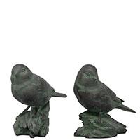 Набор статуэток Exner TroupeR Птички на камнях 2 шт, фото