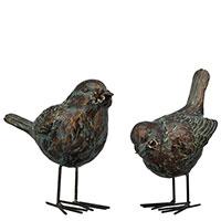 Набор статуэток Exner TroupeR Птички с цветками 2 шт, фото