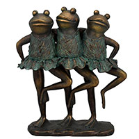 Статуэтка Exner TroupeR Лягушки-балерины, фото