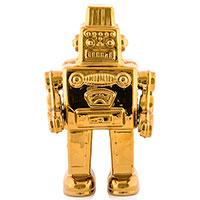 Статуэтка Seletti Робот Memorabilia Gold, фото