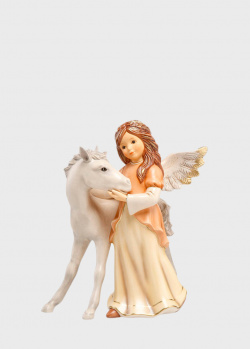 Статуэтка Goebel Друзья На Всю Жизнь в виде ангела с лошадью, фото
