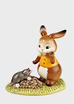 Статуэтка Goebel Easter Кролик с кротом 11см, фото
