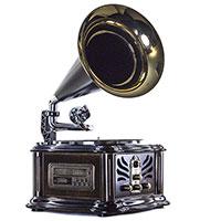 Граммофон Daklin Лондон с подсветкой дисплея, фото