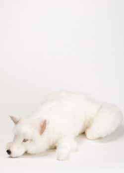 Движущаяся игрушка Michel Taillis Creation Лиса белая, фото