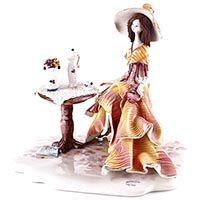Статуэтка Zampiva «Дама у столика», фото