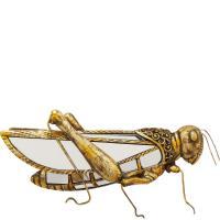 Настенный декор Kare Grasshopper Mirror 18х40х7см, фото
