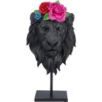 Статуэтка Kare Mask Lion Flower 49х26,5х14см, фото
