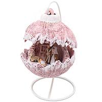 Статуэтка Villa Grazia новогодний шарик из керамики, фото