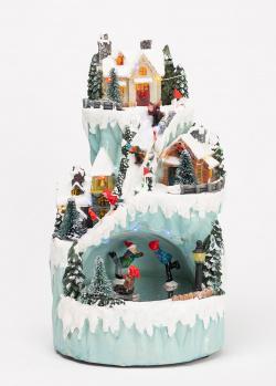 Новогодний декор Timstor Гора с детьми, фото